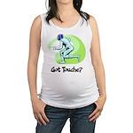 Got Touche? Maternity Tank Top