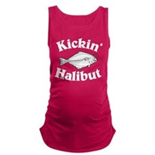 Kicking Halibut Maternity Tank Top