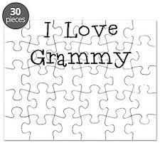 I Love Grammy Puzzle