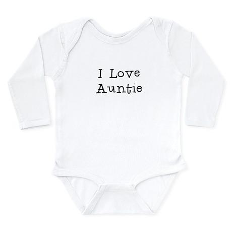 I Love Auntie Body Suit