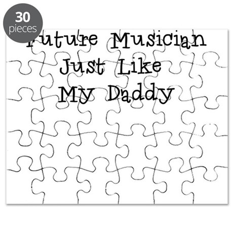 Future Musician Just Like Daddy Puzzle