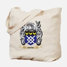 Hood Coat of Arms - Family Crest Tote Bag