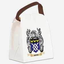 Hood Coat of Arms - Family Crest Canvas Lunch Bag