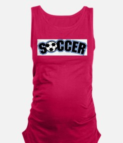Soccer Maternity Tank Top