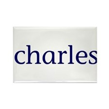 Charles Rectangle Magnet