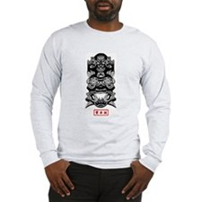 Chinese Mask Long Sleeve T-Shirt