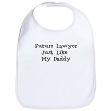 Future Lawyer Like Daddy Bib
