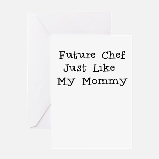 Future Chef Like Mommy Greeting Card