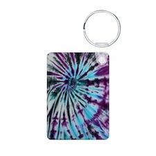 Tie Dye Design Keychains