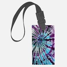 Tie Dye Design Luggage Tag
