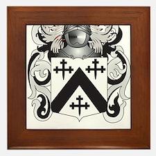 Davenport Coat of Arms Framed Tile