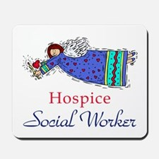 Hospice SW Angel Mousepad