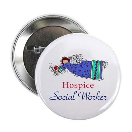 Hospice SW Angel Button