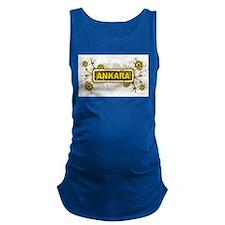 Flora Ankara Maternity Tank Top