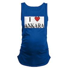 I Love Ankara Maternity Tank Top