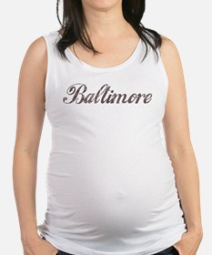Vintage Baltimore Maternity Tank Top