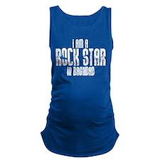 Rock Star In Baghdad Maternity Tank Top