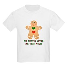 My auntie loves me Kids T-Shirt