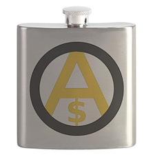 Free Market Anarchism Flask
