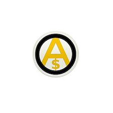 Free Market Anarchism Mini Button