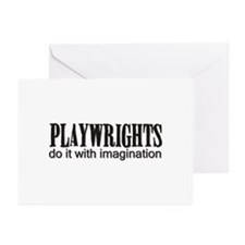 Playwrights do it with Imagin Greeting Cards (Pack