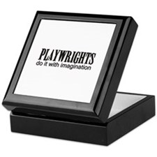 Playwrights do it with Imagin Keepsake Box