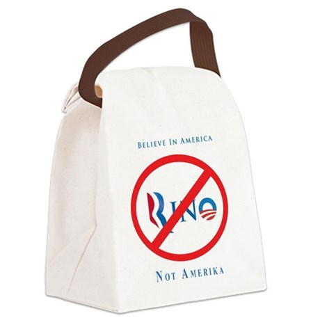 Anti-Rino Canvas Lunch Bag