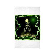 Alien Abduction 3'x5' Area Rug