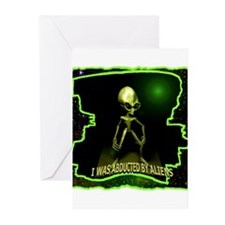 Alien Abduction Greeting Cards (Pk of 10)