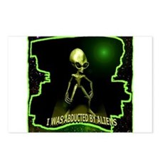Alien Abduction Postcards (Package of 8)