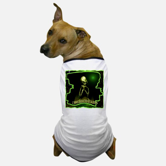 Alien Abduction Dog T-Shirt
