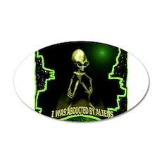 Alien Abduction Wall Sticker