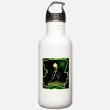 Alien Abduction Sports Water Bottle