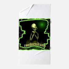 Alien Abduction Beach Towel