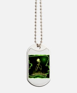Alien Abduction Dog Tags