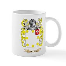 Davila 2 Coat of Arms Mug