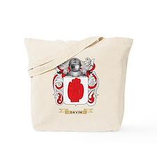 Davin Coat of Arms Tote Bag