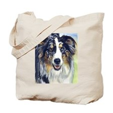 Cute Australian shepherds Tote Bag