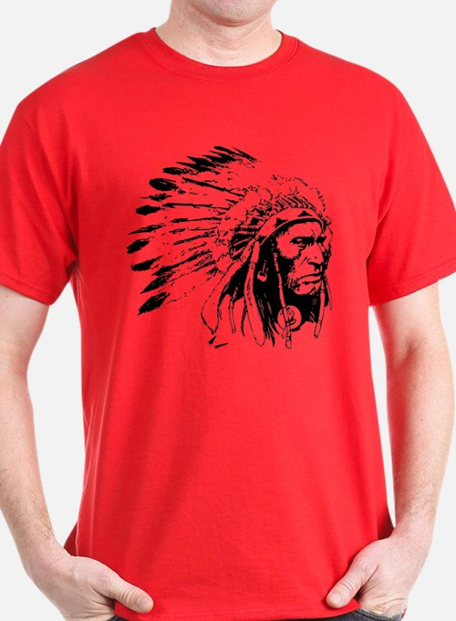 Native American Chieftain T-Shirt