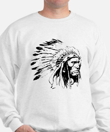 Native American Chieftain Sweatshirt