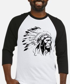 Native American Chieftain Baseball Jersey