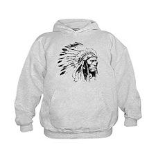Native American Chieftain Hoodie