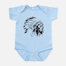 Native American Chieftain Infant Bodysuit