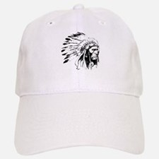 Native American Chieftain Baseball Baseball Cap