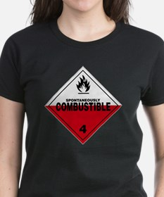 Spontaneously Combustible War Tee