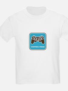 Control Freak Kids T-Shirt