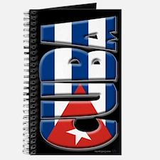 Word Art Flag of Cuba Journal