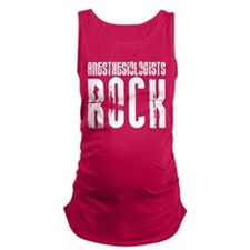 Anesthesiologists Rock Maternity Tank Top