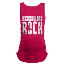 Booksellers Rock Maternity Tank Top