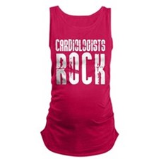 Cardiologists Rock Maternity Tank Top